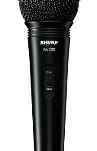 Shure SV200-W Multi-Purpose Microphone with XLR-XLR Cable